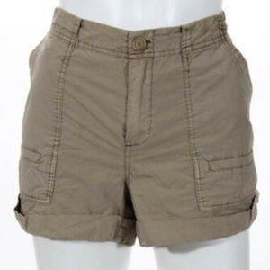 Joie Brown Cotton Shorts